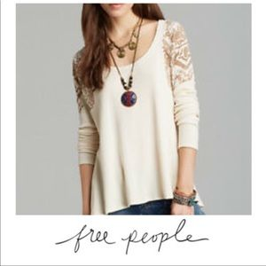 Free People Oversized Top NWT